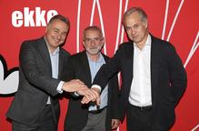 L'Ekke s'integra al grup Viding, que n'assumeix totes les accions