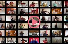 """L'Orquestra Simfònica L'Intèrpret representa """"Els Miserables"""" des de casa"""