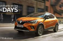 Aprofita els Open Days per provar el nou Renault CAPTUR