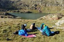 Campaments per adolescents en ruta de muntanya
