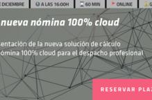 Presentació de la nova solució de càlcul de nòmina 100% cloud.
