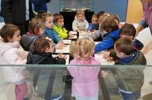 Experiència pedagògica a la exposició temporal del MAU