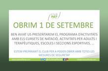 El Club INEF Lleida torna a obrir les seves portes
