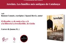 Presentació de Arrelats, amb Ignasi Revés i Ramon Camats
