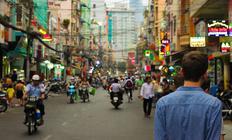 Carrers ciutat xinèsa. Arxiu
