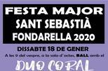 Festa Major de Sant Sebastià | Fondarella