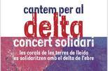 Concert solidari 'Cantem per al Delta'