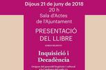 Presentació del llibre: 'Inquisició i decadència. Orígens del genocidi lingüístic i cultural a la Catalunya del s.XVI'