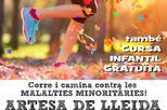 Cursa Solidària amb la Marató a Artesa de Lleida