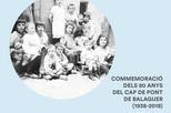 """Presentació del documental: """"Conviure amb la por. Memòria dels nens del Cap de Pont de Balaguer (1938)"""""""