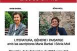 'Literatura, gènere i paisatge' amb Maria Barbal i Sònia Moll