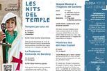 """Tornen les """"Nits del Temple"""" al Castell de Gardeny! Aplaudiment Demà, al vespre, tens una nova visita familiar dinamitzada per fer de """"Templer per una nit""""!"""