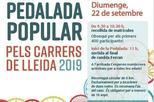 Pedalada Popular pels carrers de Lleida