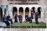 Càntic de plany i esperança - Música Reservata de Barcelona