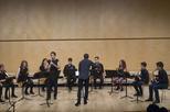 Concert de l'Ensemble de Saxos Terrassa al conservatori de Cervera