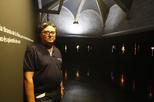 Jaume Lladós el dia de la exposició / SEGRE