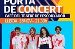 Movistar et porta de concert: Papa Topo + Escuelas Pías