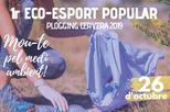 """Plogging Cervera"": 1r Eco-esport popular"