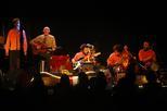 Pau Riba en un concert a Lleida.