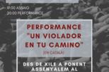 Performance 'Un violador en tu camino'