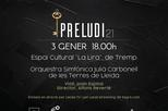 Concert d'Any Nou 'Preludi 21' - Orquestra Julià Carbonell