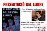 """Presentació del llibre: """"El libro negro del ejército español"""""""
