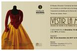 'Vestir la Moda. Modes de Vestir a les Terres de Lleida (segles XVIII-XX)'