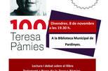 Lectura i debat del llibre 'Testament a Praga' de Teresa Pàmies