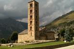"""""""Església de Sant Climent de Taüll (La Vall de Boí) - 1"""" by wsrmatre - Flickr: Sant Climent de Taúll RI-51-0000692. Licensed under CC BY-SA 2.0 via Wikimedia Commons - https://commons.wikimedia.org/wiki/File:Esgl%C3%A9sia_de_Sant_Climent_de_Ta%C3%BCll_(La"""