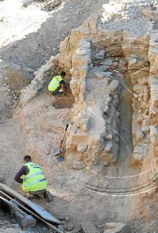 La Paeria deixarà visibles algunes restes arqueològiques de l'antic barri jueu