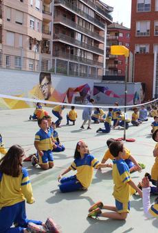 El col·legi Episcopal es bolca amb l'activitat física