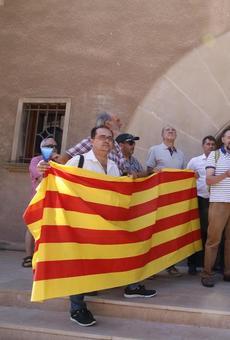 Tensa visita al Museu de Lleida