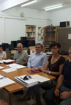 Primeres obres a l'escola Vidal i Abad de Vilaller després de més de 30 anys