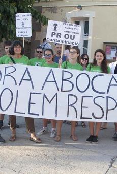 Els contraris a la planta de compostatge d'Ossó es manifestaran cada setmana