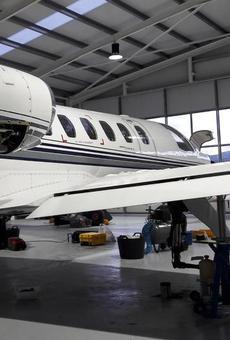 L'aeroport de la Seu d'Urgell es converteix també en taller d'avions de fins a deu places
