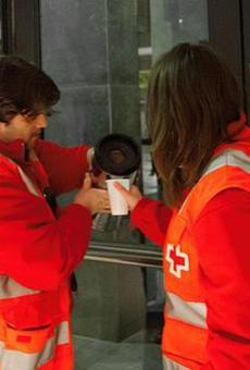 Creu Roja arriba a atendre 200 persones sense sostre a la setmana per fred