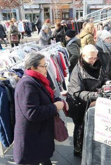 La Zona Alta, satisfeta amb les vendes al mercat del final de les rebaixes
