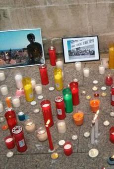 Els companys d'Abel Martínez el recorden 2 anys després reivindicant seguretat a les aules