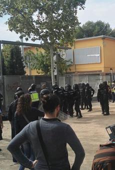 #1O / Les imatges de les càrregues policials a Lleida