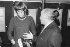 Montserrat Roig y Jacint Carrió en 1977