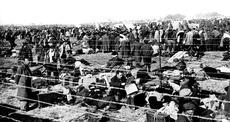 Campo de concentración de Argelès-sur-mer (Francia)