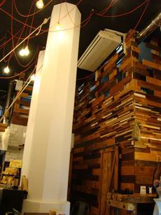 Les fustes són un dels elements decoratius reciclats en un nou format