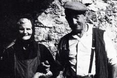 Sofia Montaner d'Ossera i el seu marit Miquel Borrell