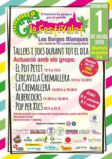 Sorteig 2 invitacions de 4 entrades cadascuna per Lo Festivalet