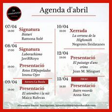 Agenda abril la irreductible
