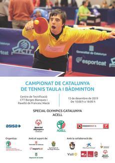 Campionat de Catalunya de Tennis Taula i Bàdminton