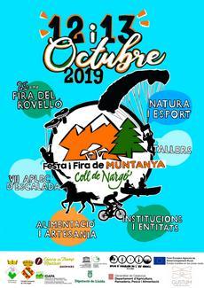 Festa i Fira de Muntanya Coll de Nargó 25ena Fira del Rovelló i VII / Aplec d'Escalada