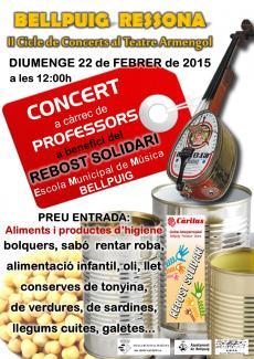 Concert pedagògic Pro-rebost solidari