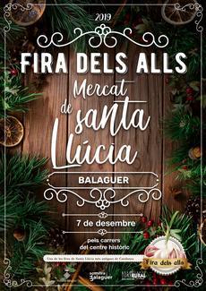 Fira dels Alls i Mercat de Santa Llúcia   Balaguer