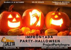 Impronyada. Party-Halloween